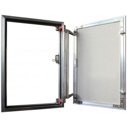 Inspection Door Magnetic Push Under Ceramic Tiles Aluminium Access Panel ATP (20x30)