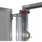 Inspection Door Magnetic Push Under Ceramic Tiles Aluminium Access Panel ATP (20x50)