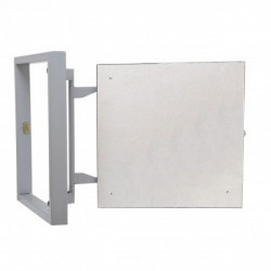 Inspection Door Magnetic Push Under Ceramic Tiles Steel Access Panel 40x40