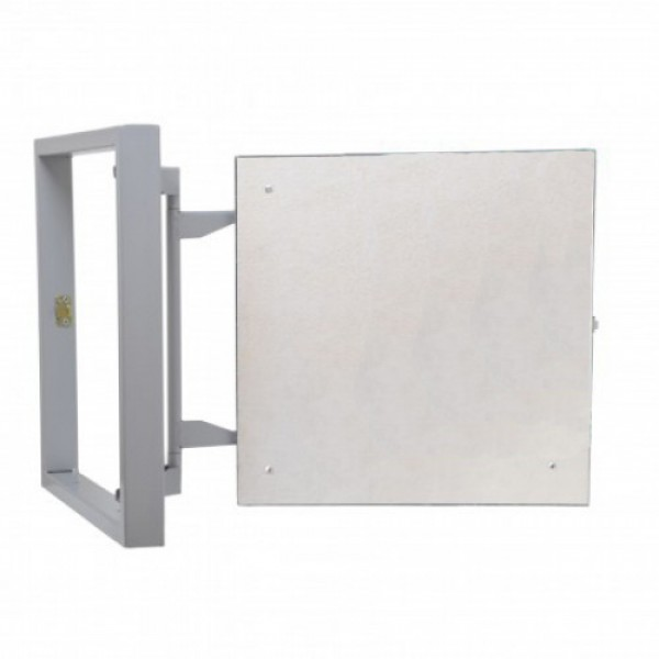Inspection Door Magnetic Push Under Ceramic Tiles Steel Access Panel 60x40 (3D)