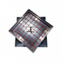 Floor Aluminium Manhole Cover with filling